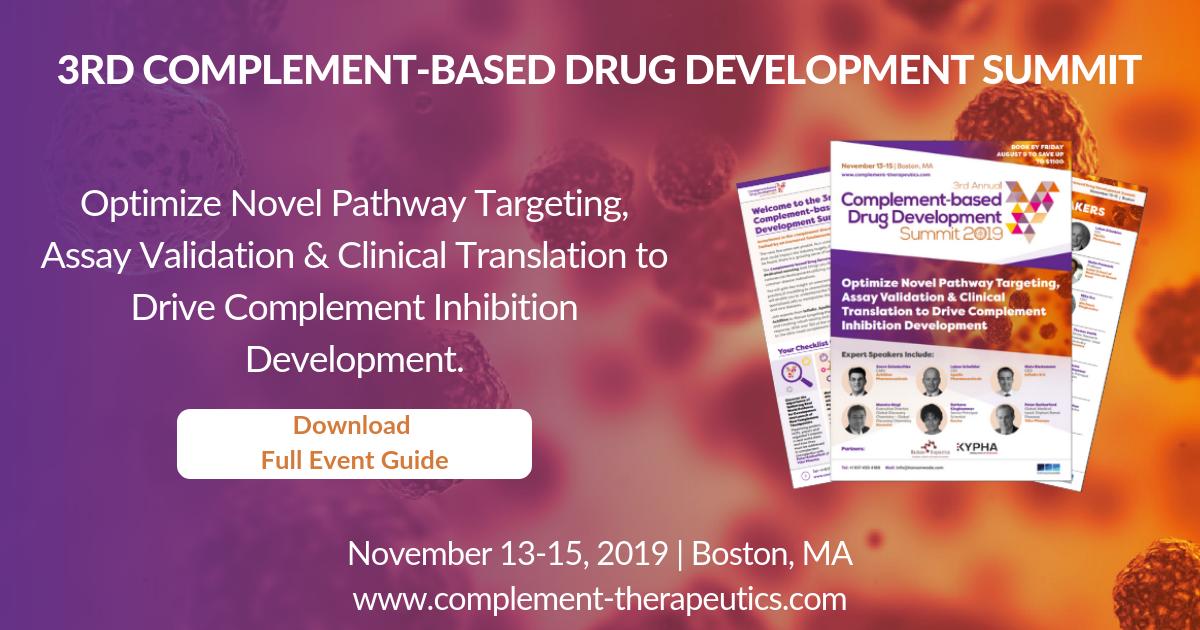 Agenda | 3rd Complement-based Drug Development Summit 2019