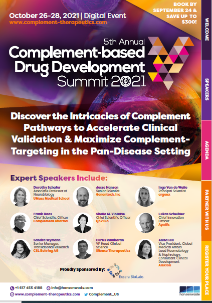Complement-based Drug Development Summit 2021 - Full Event Guide